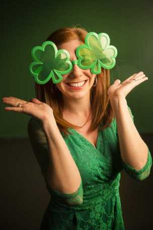 What can I say? I'm Irish!